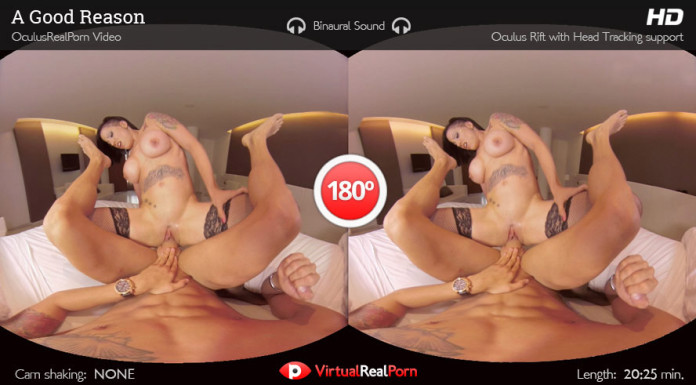 """A Good Reason"" Virtual Real Porn Movie Trailer"