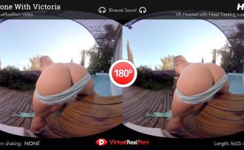 """Alone With Victoria"" Virtual Real Porn Movie Trailer"