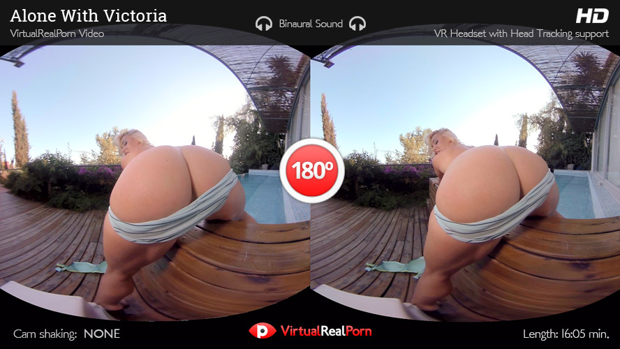 Sizzling virtual reality porn title Alone With Victoria from Virtual Real Porn