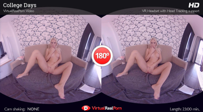 """College Days"" VirtualRealPorn's VR Porn Movie"