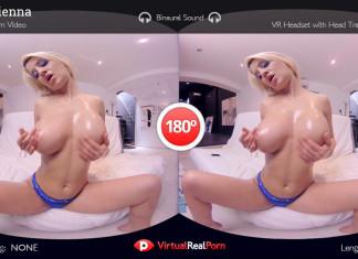 Mobile VR XXX Movie Fiery Sienna by Virtual RealPorn