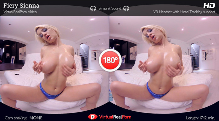 Mobile VR XXX Movie Fiery Sienna by Virtual Real Porn