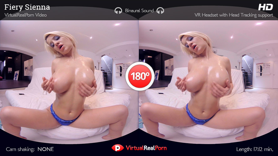 Hot VR porn movie Fiery Sienna from Virtual Real Porn