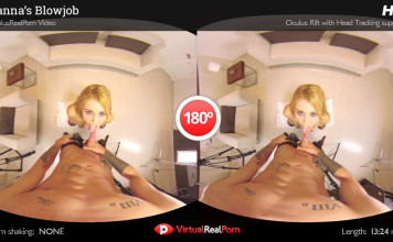 "Full VR Porn Movie ""Hanna's Blowjob"" from VirtualRealPorn"
