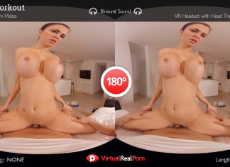 "Full HD 3D VR Porn Movie ""Hard Workout"", a VirtualRealPorn Classic"