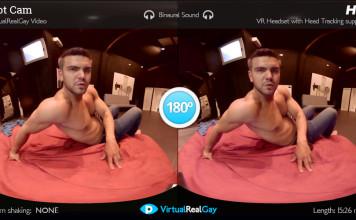 """Hot Cam"" Gay VR Porn from VirtualRealPorn"