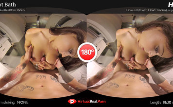 """Hot Bath"" Virtual Real Porn Trailer"