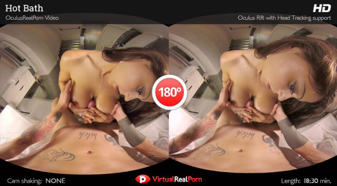 """Hot Bath"" Virtual Real Porn Trailer"