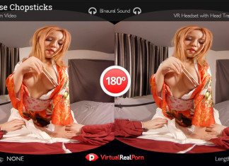 """Japanese Chopsticks"" Virtual Real Porn Trailer"
