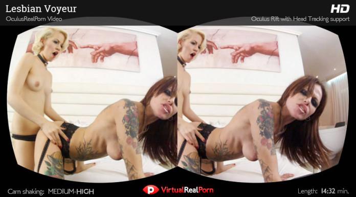 """""""Lesbian Voyeur"""" Virtual Real Porn Trailer"""