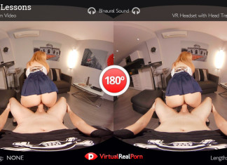 """Private Lesson"" Virtual Real Porn Trailer"