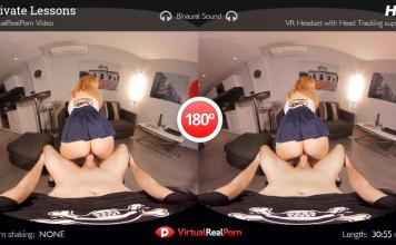 """""""Private Lesson"""" Virtual Real Porn Trailer"""