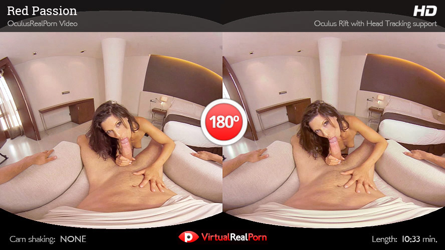 Naughty virtual reality porn title Red Passion by VirtualRealPorn