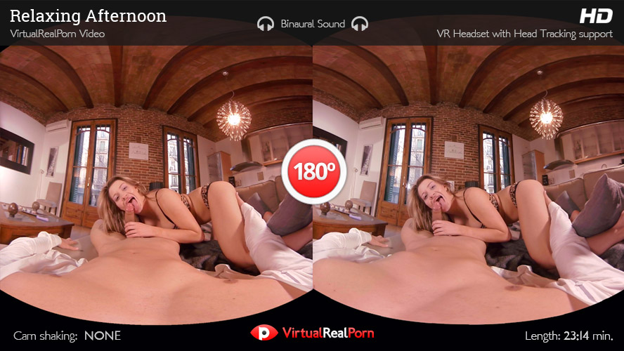 Naughty VR porn title Relaxing Afternoon by Virtual Real Porn