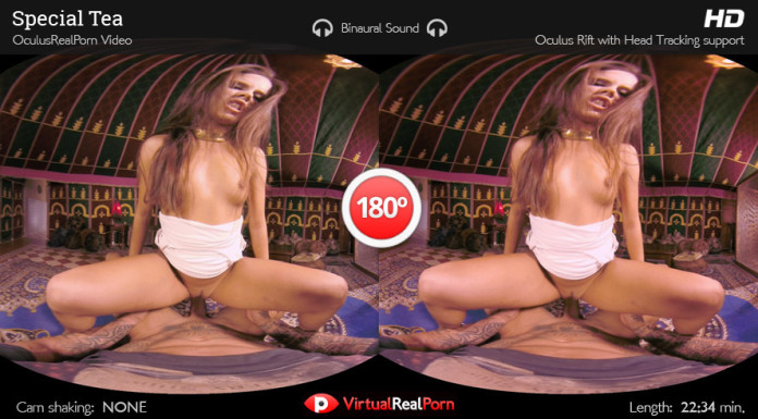 """Special Tea"" Virtual Reality Porn Trailer"