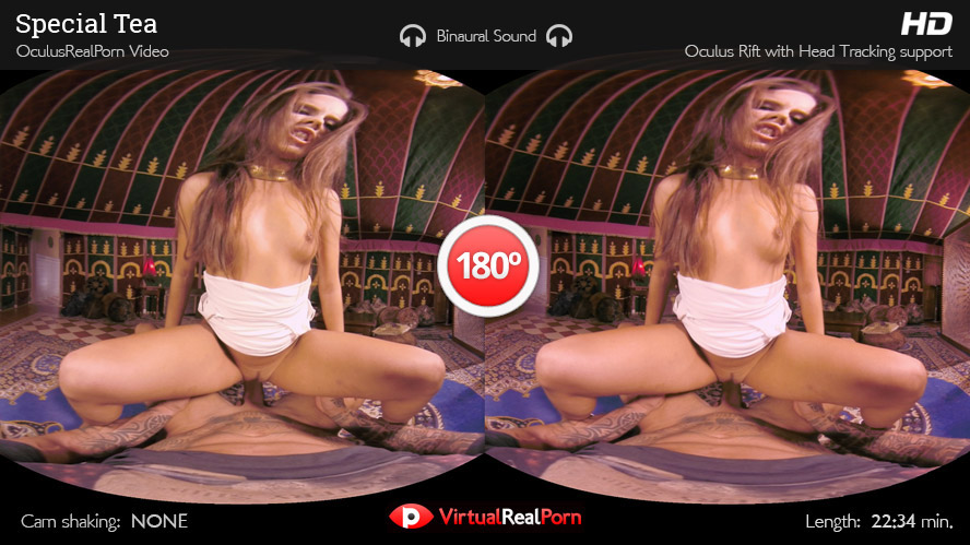Sexy VR porn title Special Tea from Virtual Real Porn