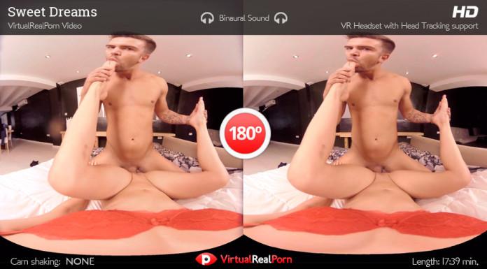 """Sweet Dreams"" Girls' Friendly Virtual Real Porn Trailer"