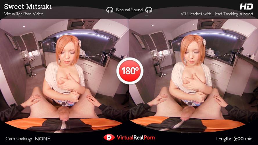 Naughty VR porn movie Sweet Mitsuki by VirtualRealPorn