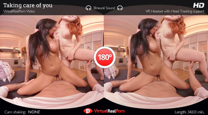 """Taking Care Of You"" Virtual Real Porn Trailer"