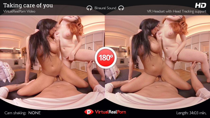 Hot virtual reality porn movie Taking Care Of You from Virtual Real Porn