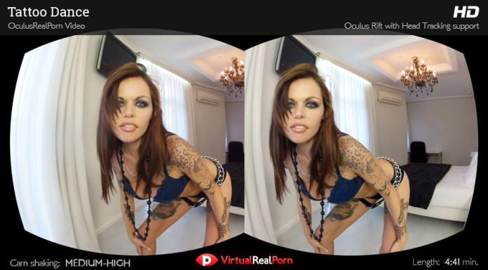"""Tattoo Dance"" Virtual Real Porn Trailer"