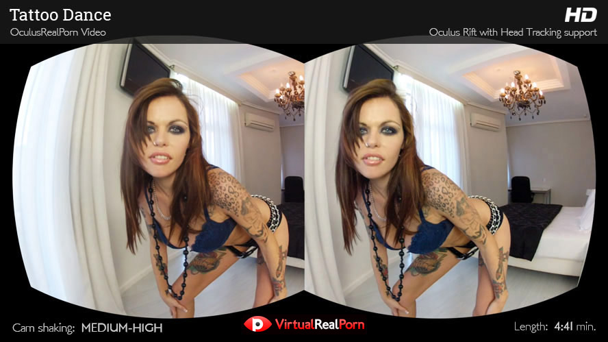 Sexy virtual reality porn title Tattoo Dance from Virtual Real Porn