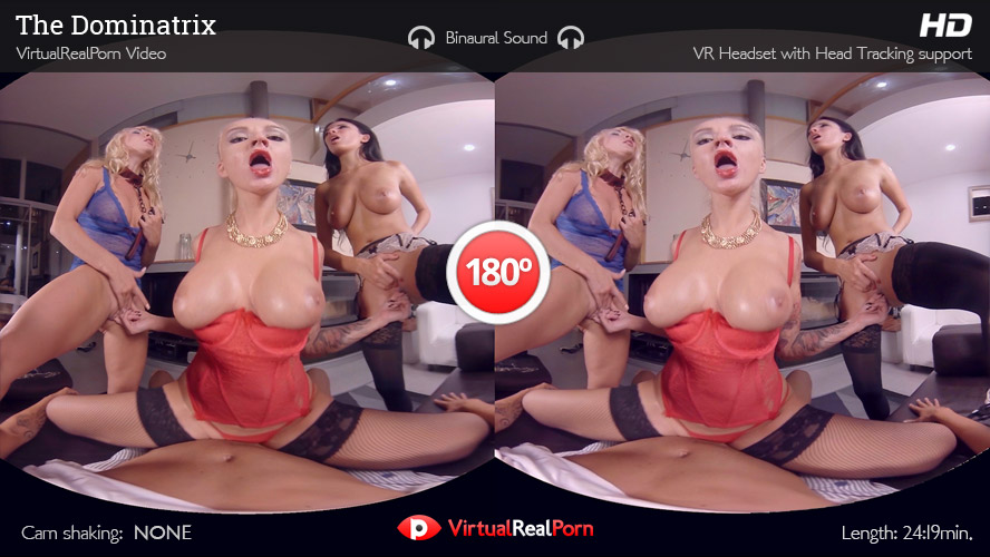 Naughty VR porn title The Dominatrix by Virtual Real Porn