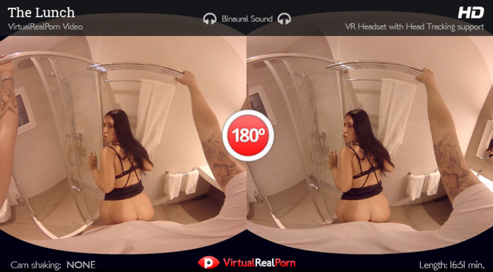 """The Lunch"" VR Porn Trailer from VirtualRealPorn"