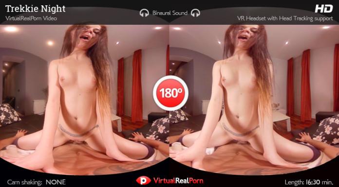 """""""Trekkie Night"""" Virtual Real Porn Trailer"""