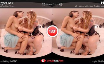 """Women's Tupperware Party"" Virtual Real Porn Trailer"