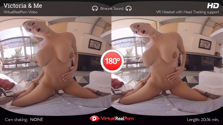 Naughty VR porn movie Victoria and Me by VirtualRealPorn