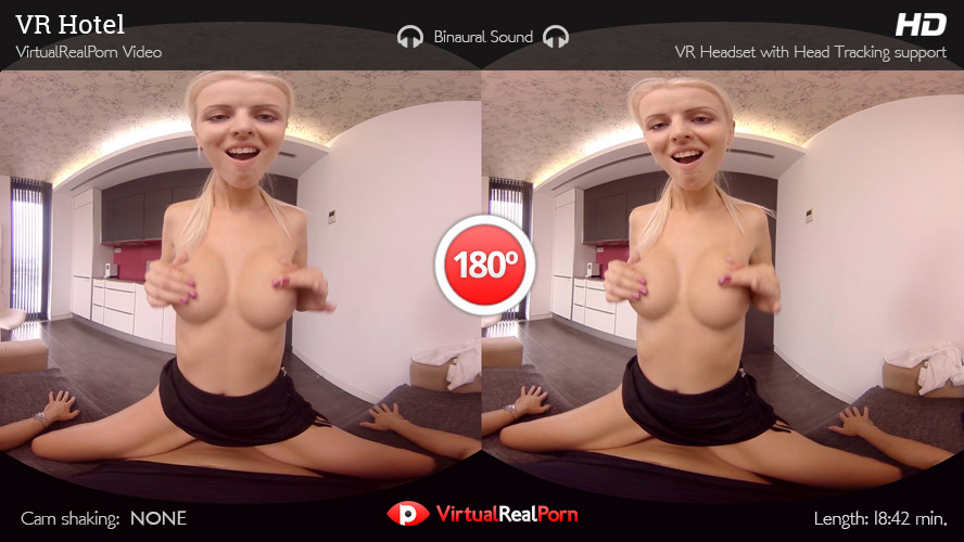 Sizzling virtual reality porn movie VR Hotel by Virtual Real Porn