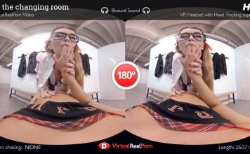 Misha Cross and Amirah Adara in our first VR lesbian porn POV!