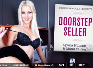 """VR Porn Video """"Doorstep Seller"""" from VRP"""