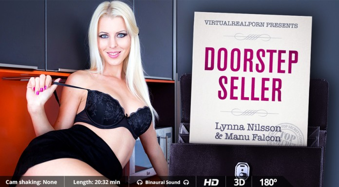 "VR Porn Video ""Doorstep Seller"" from VRP"