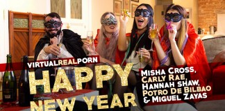 "Watch ""Happy New Year"" VR Porn Trailer"
