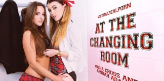 """At the Changing Room"" Virtual Reality Porn from VRP"
