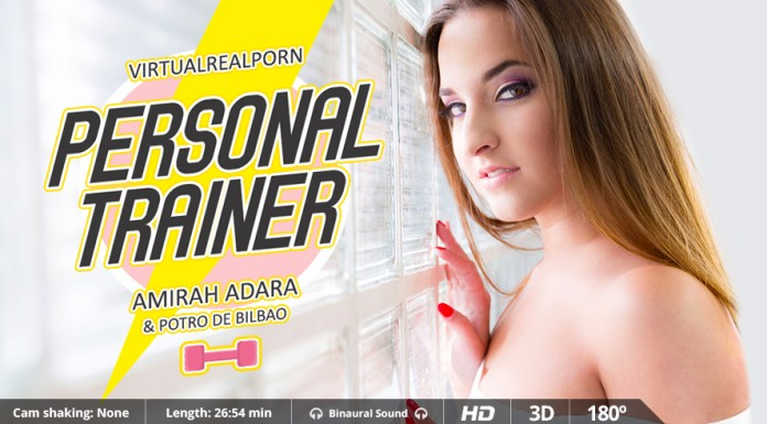 """Personal Trainer"" HD VR Porn Movie from VirtualRealPorn"