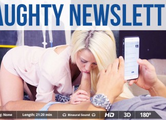 "Full VR Porn Movie ""Naughty Newsletter"""