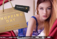 "Get Spoiled on ""Shopping Day"", VR Porn Striptease and Fuck"