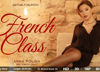 "Get Schooled in ""French Class"" VR Porn Video from VRP"