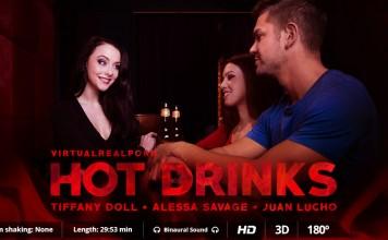 """""""Hot Drinks"""" VR Porn Trailer from VirtualRealPorn"""