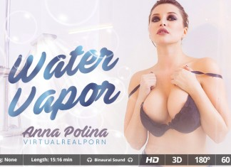 """Steamy and Sudsy VR Porn Movie """"Water Vapor"""""""