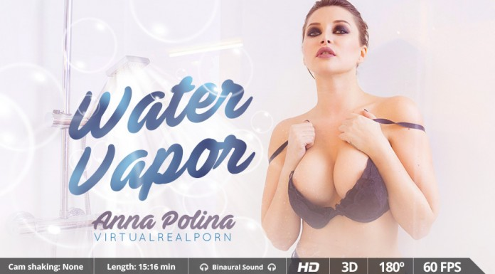 "Steamy and Sudsy VR Porn Movie ""Water Vapor"""