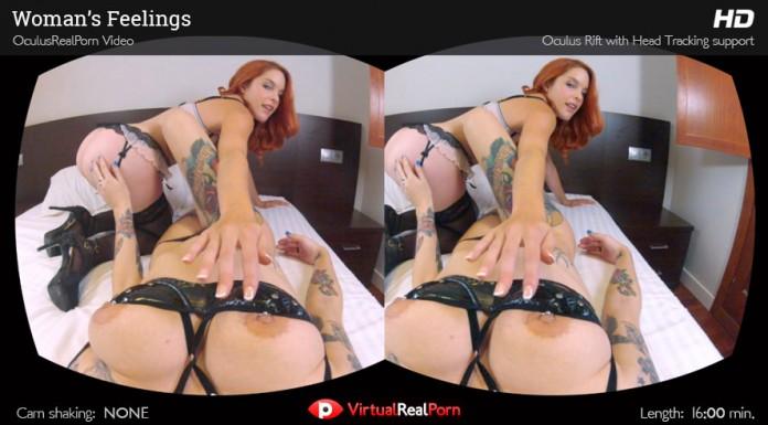 """Lesbian VR Porn Video """"Women's Feelings"""" from VirtualRealPorn"""