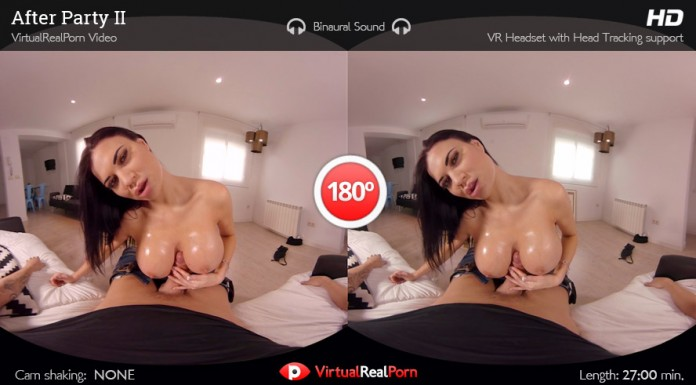 "Full VR Porn Movie ""After Party 2"" for Virtual Big Tits POV Fucking"