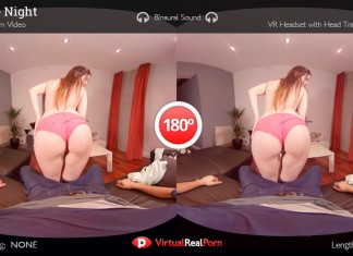 "Full VR Porn Movie ""Trekkie Night"" is Real Live Nerd Sex"