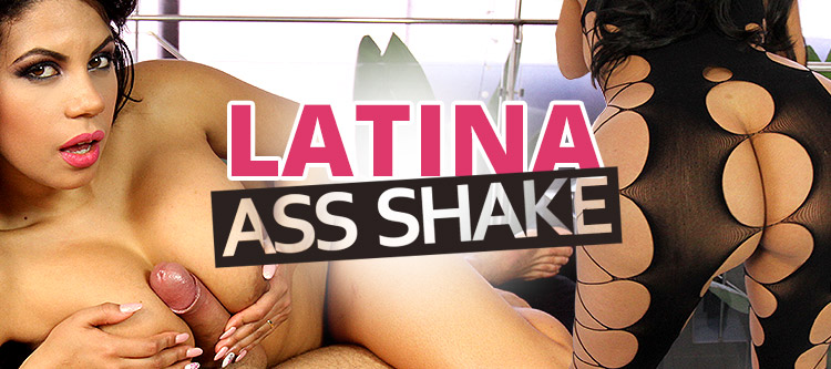 VR Latina with Big Firm Butt Ass Shaking