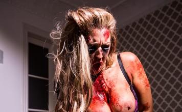 Hardcore VR Sex on Halloween