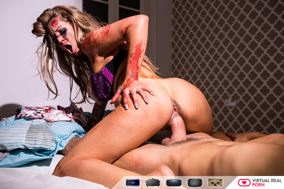 Hardcore VR Sex on Halloween